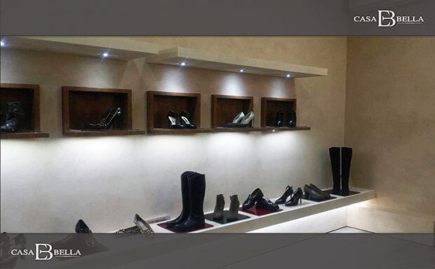 意大利某品牌女鞋专柜