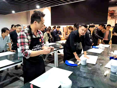 2019年萨铂艺术涂料培训上海站